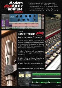 Home Recording e Produzione Musicale