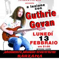 A lezione con Guthrie Govan