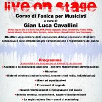 Locandina LiveOnStage