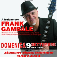 A lezione con Frank Gambale