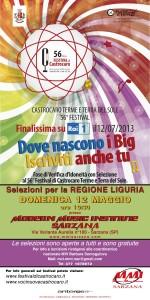 Selezioni Regione Liguria per il Festival di Castrocaro