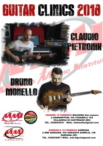 Bruno Monello & Claudio Pietronik Guitar Clinic